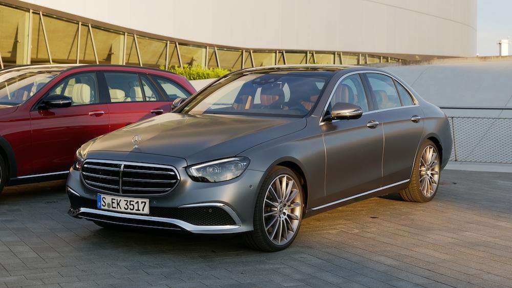 Mercedes E-Klasse Facelift 2021 Fahrbericht E350 MHEV ...