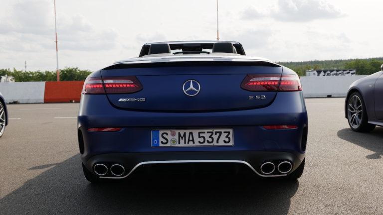 Mercedes E53 AMG Fahrbericht 2021 E-Klasse Cabriolet E 53 ...